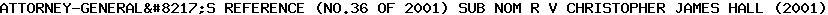 [2001] EWCA Crim 1489