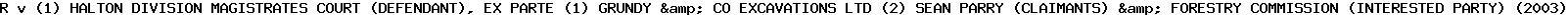 [2003] EWHC 272 (Admin)