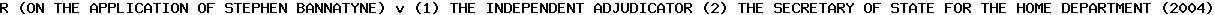 [2004] EWHC 1921 (Admin)