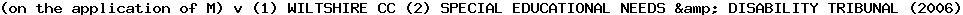 [2006] EWHC 3337 (Admin)
